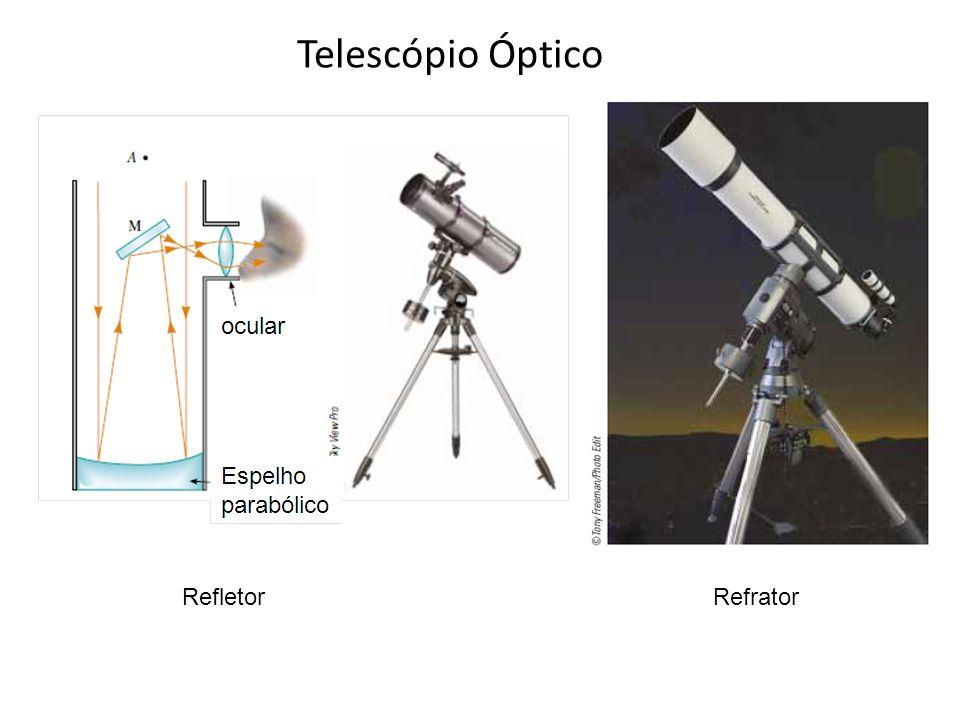 Telescópio Óptico RefletorRefrator