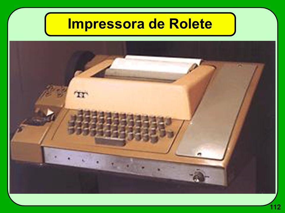 112 Impressora de Rolete