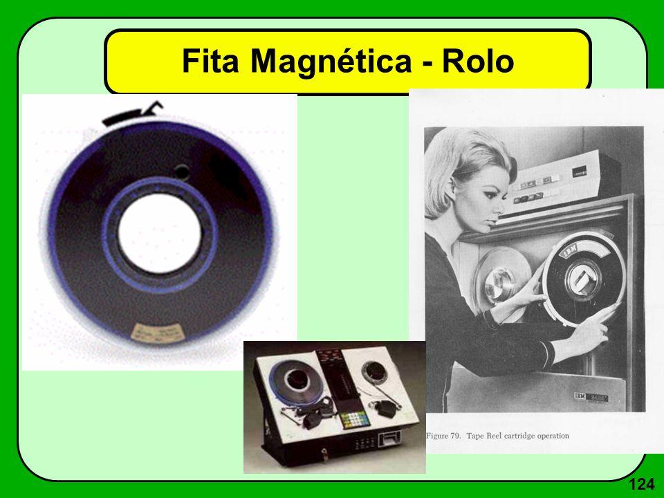 124 Fita Magnética - Rolo