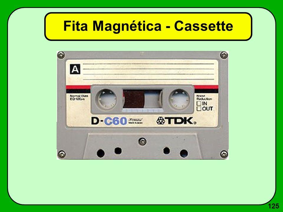 125 Fita Magnética - Cassette