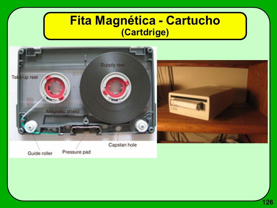 126 Fita Magnética - Cartucho (Cartdrige)