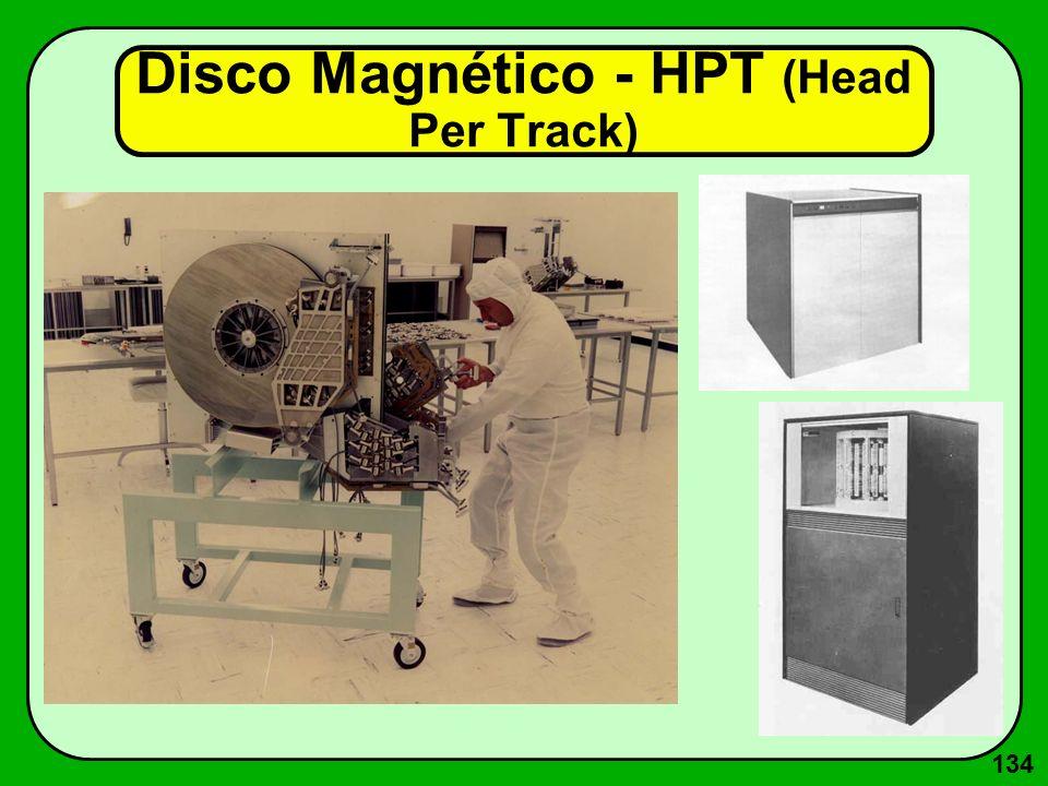 134 Disco Magnético - HPT (Head Per Track)