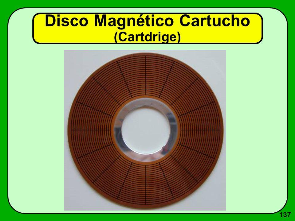 137 Disco Magnético Cartucho (Cartdrige)