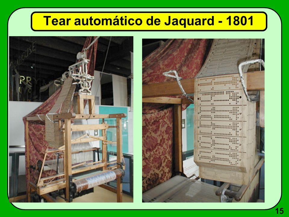 15 Tear automático de Jaquard - 1801