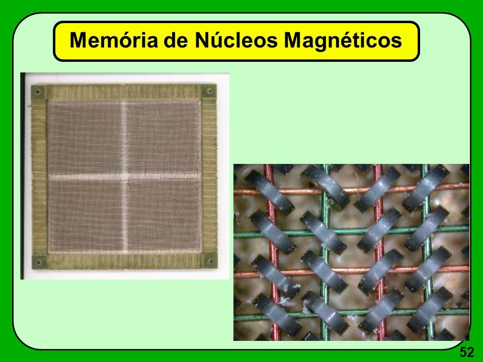 52 Memória de Núcleos Magnéticos