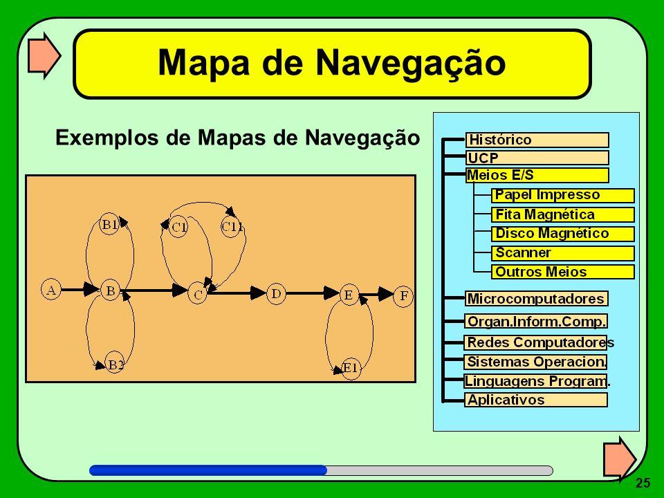 25 Mapa de Navegação Exemplos de Mapas de Navegação