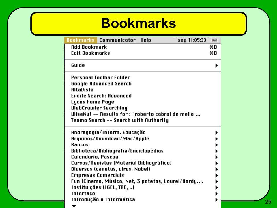 26 Bookmarks