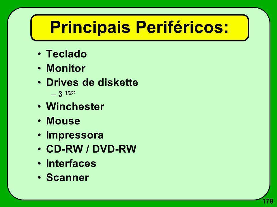 189 Dot Pitch típicos Em monitores os dot pitches mais comuns são:.31mm,.28mm,.27mm,.26mm e.25mm.