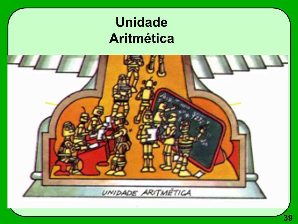 39 Unidade Aritmética