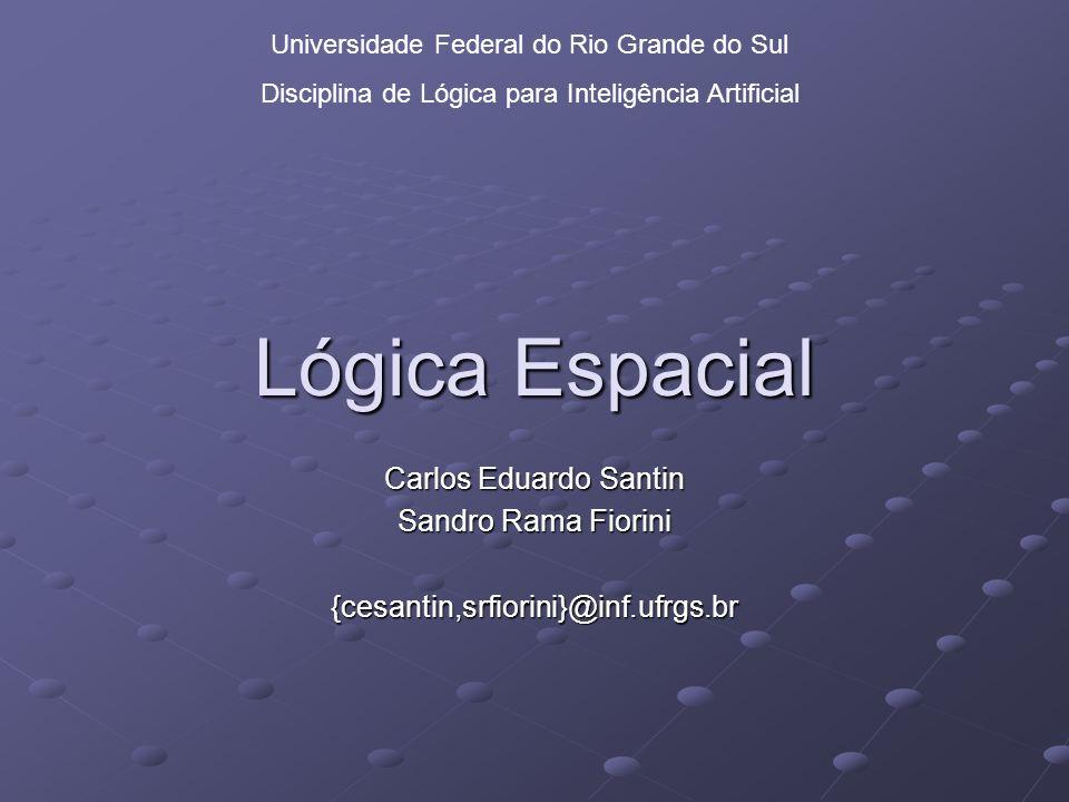 2 Roteiro Surgimento da Lógica Espacial O que é logica espacial.