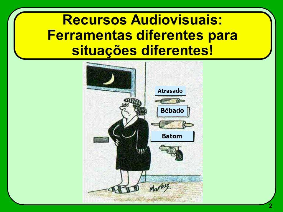 1 Recursos Audiovisuais Roberto Cabral de Mello Borges UFRGS 2004