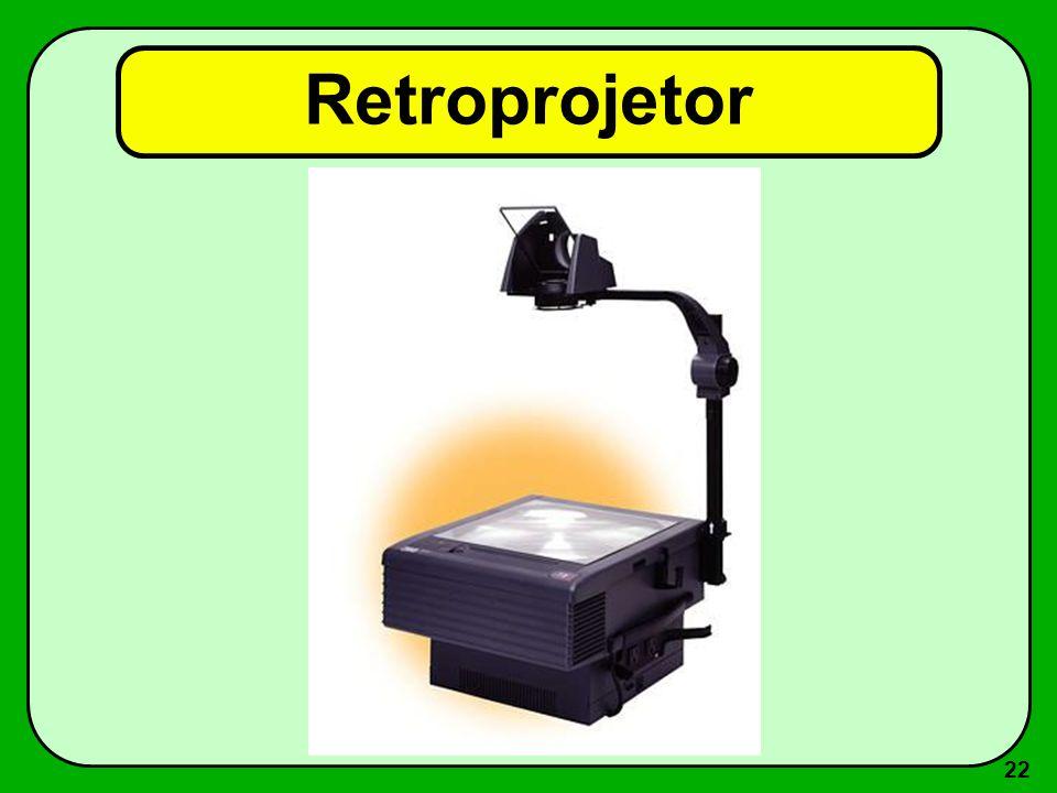 21 Retroprojetor