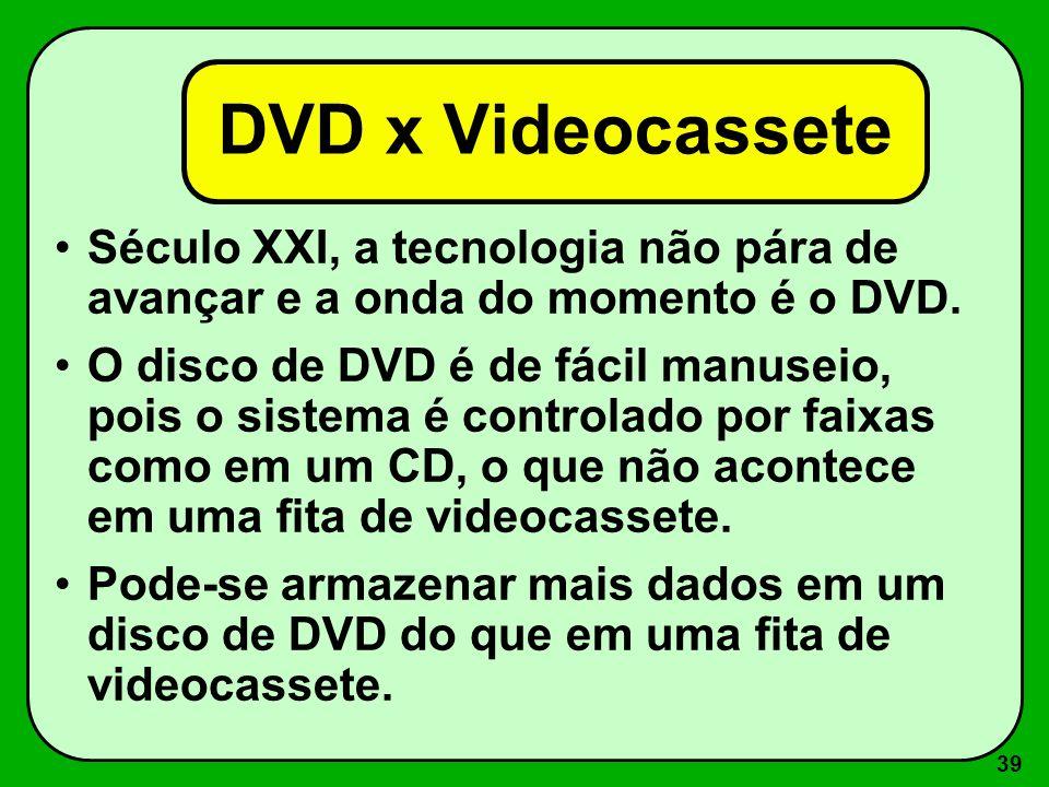 38 PC DVD / RAM Lançado pela Creative, com capacidade para armazenar 5,2 GB de dados. É passível de formatação, gravação e exclusão.