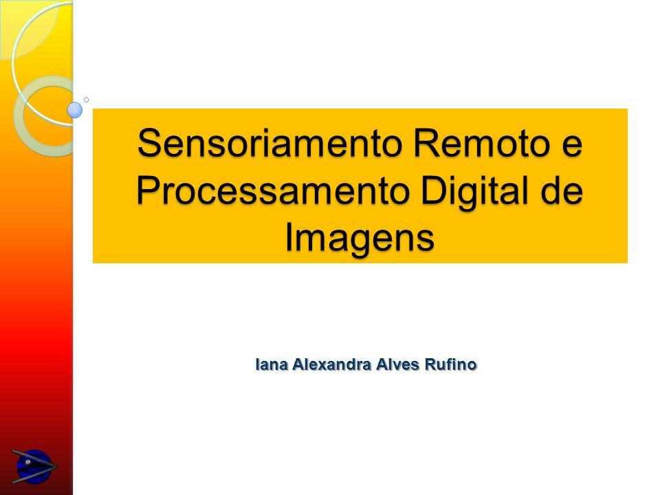 Pré-Processamento Refere-se ao processamento inicial de dados brutos para calibração radiométrica da imagem, correção de distorções geométricas e remoção de ruído.