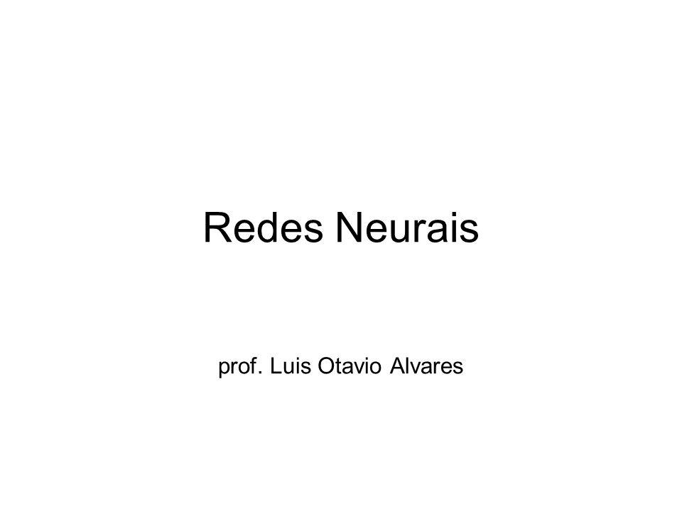 Redes Neurais prof. Luis Otavio Alvares