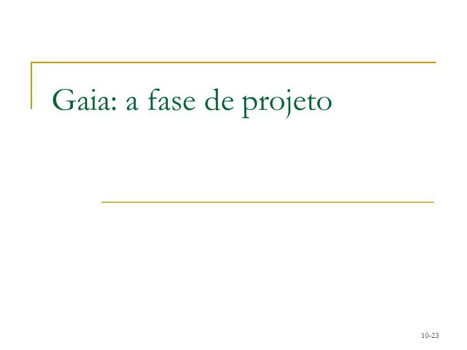 10-23 Gaia: a fase de projeto