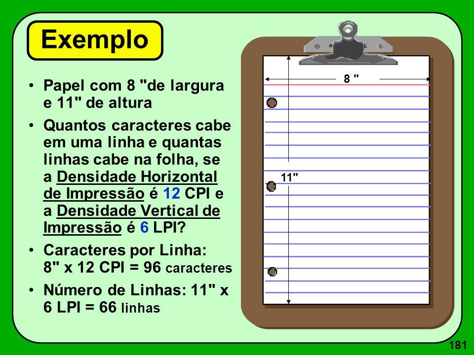 181 Exemplo Papel com 8