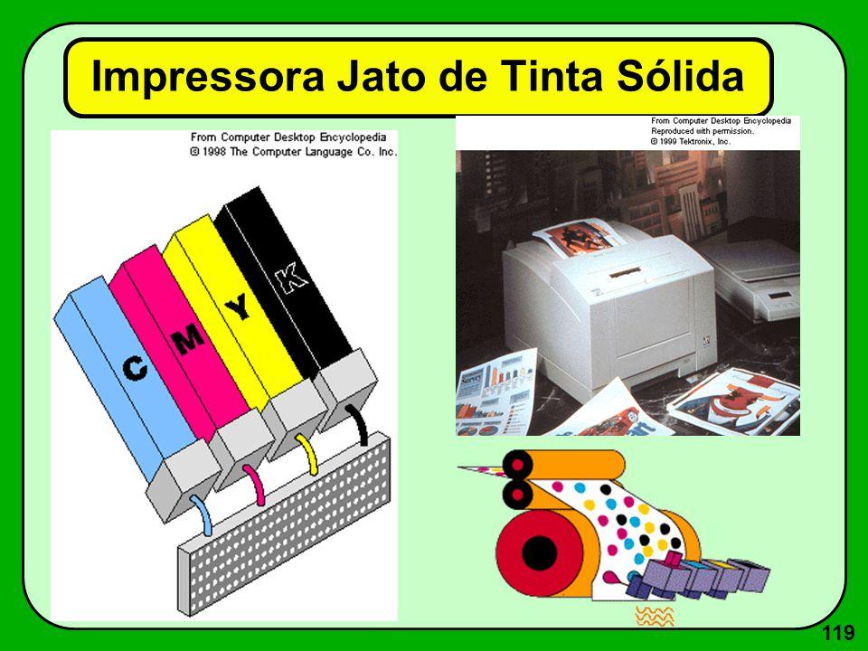 119 Impressora Jato de Tinta Sólida
