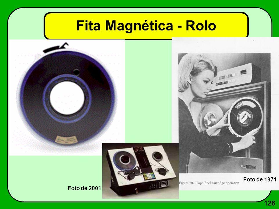 126 Fita Magnética - Rolo Foto de 1971 Foto de 2001