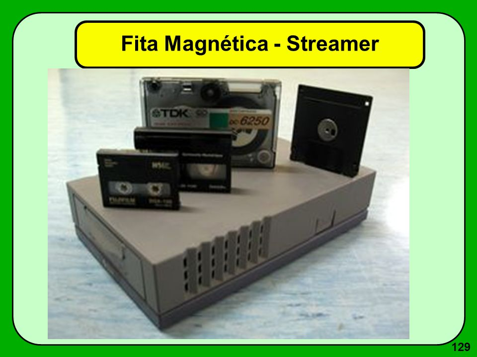 129 Fita Magnética - Streamer