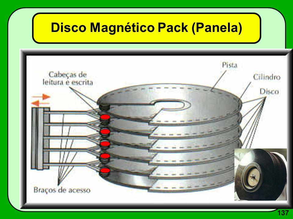 137 Disco Magnético Pack (Panela)