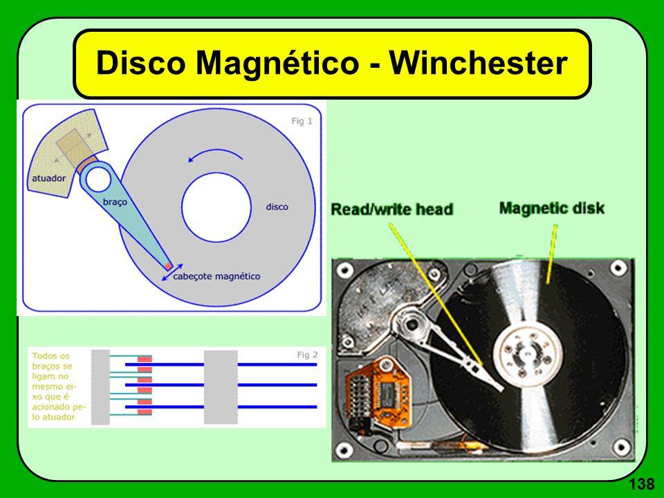 138 Disco Magnético - Winchester