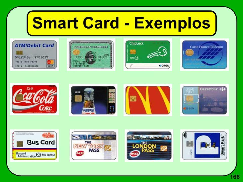 166 Smart Card - Exemplos