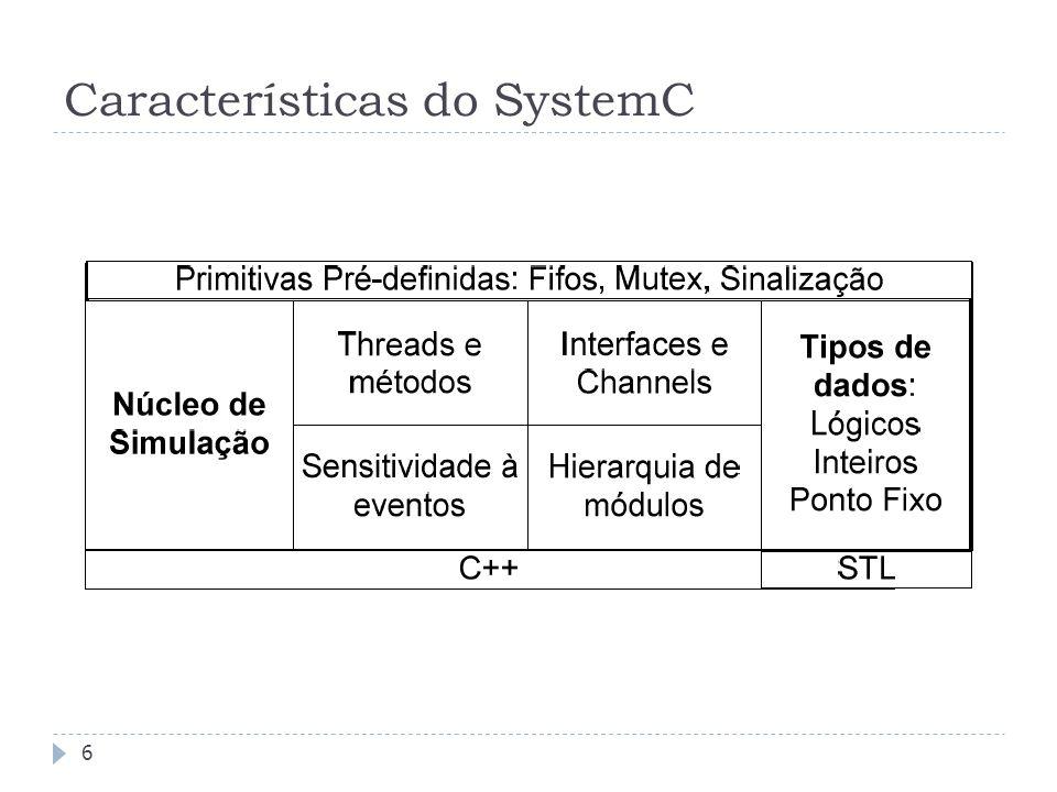 FEDERAL UNIVERSITY OF RIO GRANDE DO SUL Características do SystemC 6