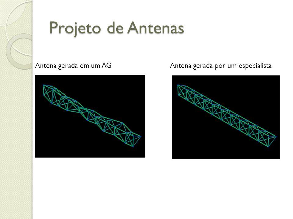 Projeto de Antenas Antena gerada em um AGAntena gerada por um especialista