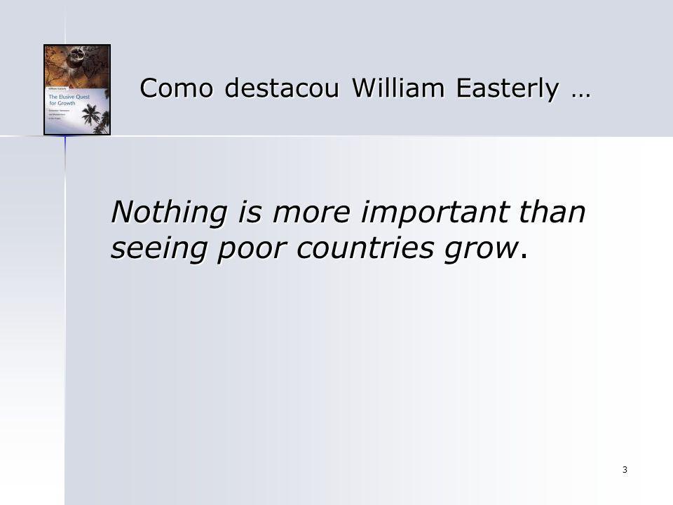 14 O Crescimento Econômico O crescimento com o qual estamos preocupados é o crescimento em termos per capita, ou também chamado de crescimento intensivo no qual o produto cresce a uma taxa maior do que a população e proporciona um aumento do bem- estar econômico.