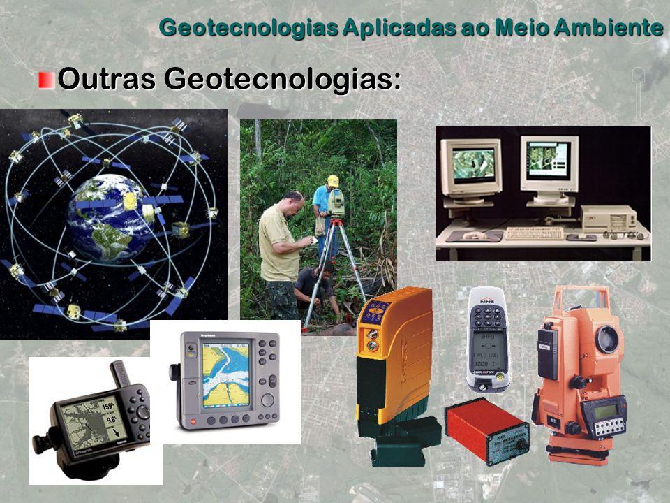 Outras Geotecnologias: Geotecnologias Aplicadas ao Meio Ambiente