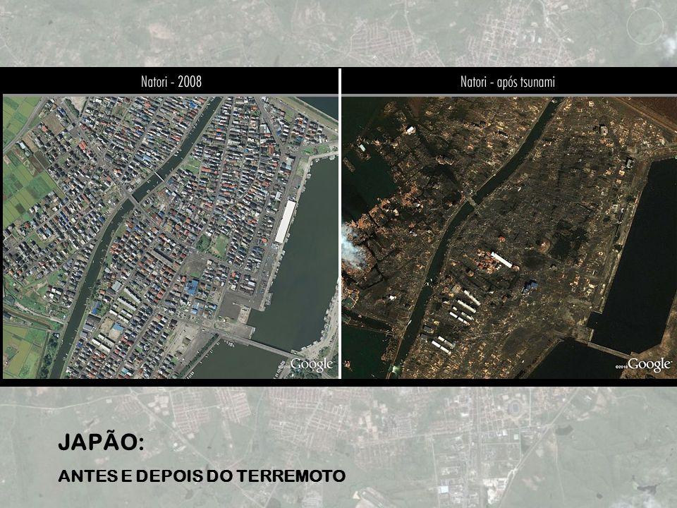 JAPÃO: ANTES E DEPOIS DO TERREMOTO