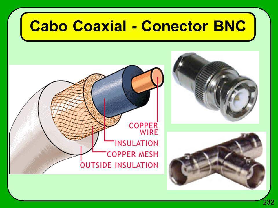 232 Cabo Coaxial - Conector BNC