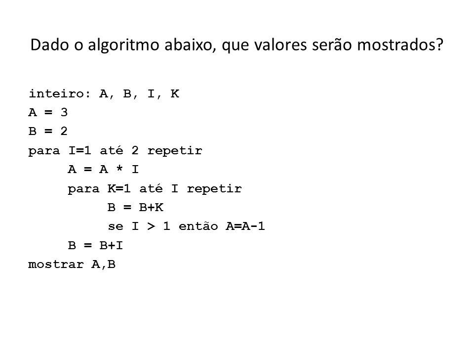 Corrija os seguintes trechos, se e onde julgar necessário: a) float temp_max; printf(Temperatura Máxima =, temp_max); b) if ano % 4 = 0 && ano % 400 = = 0 printf(E bissexto!); c) int val; scanf(&f, %val); d) if indice > 0.3 printf(Parar grupo1); if indice > 0.4 printf(Parar grupos 1 e 2); else printf(Parar os 3 grupos);