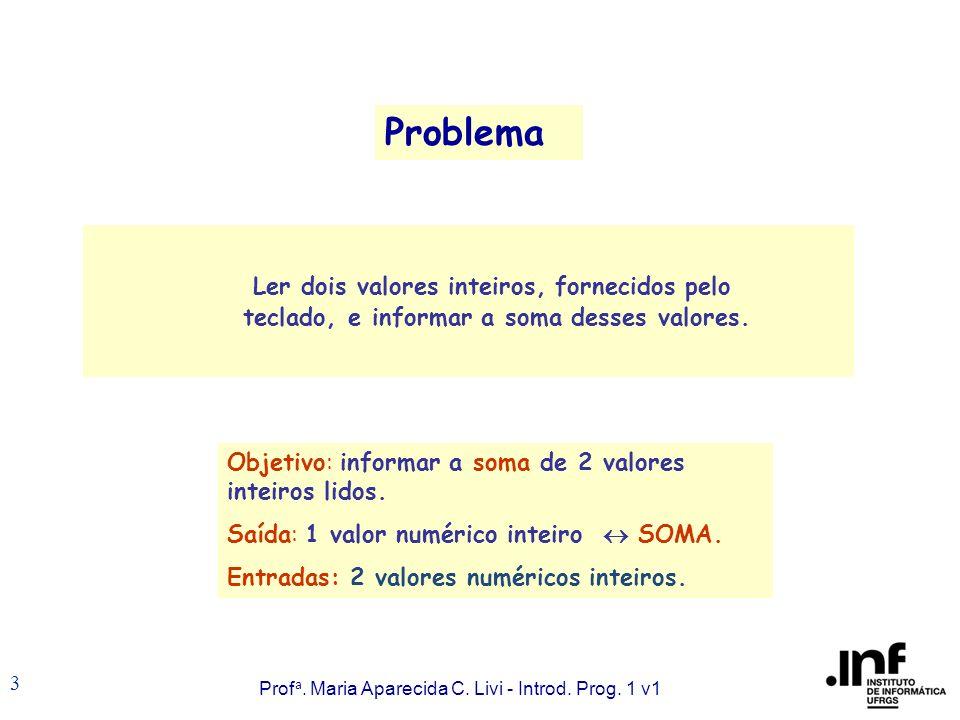 Prof a. Maria Aparecida C. Livi - Introd. Prog.