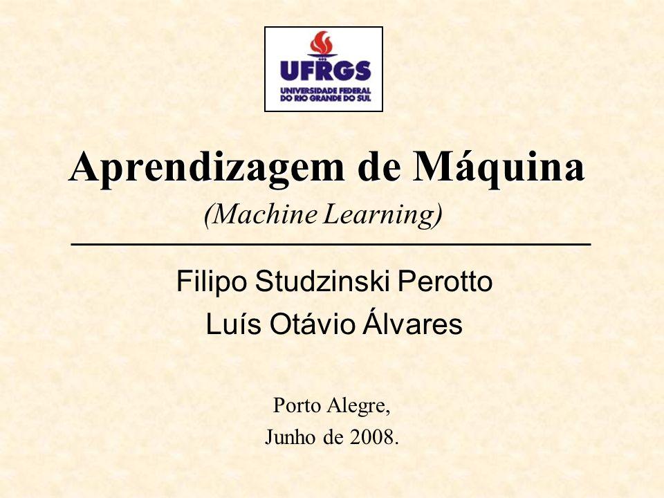 Aprendizagem de Máquina Porto Alegre, Junho de 2008.