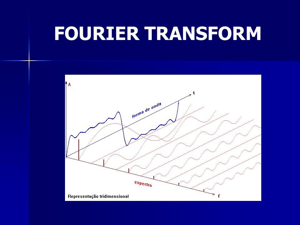 FFT FAST FOURIER TRANSFORM Reduz o custo do algoritmo de N² para N.log 2 N Necessário para aplicações que é imprecindível a velocidade.