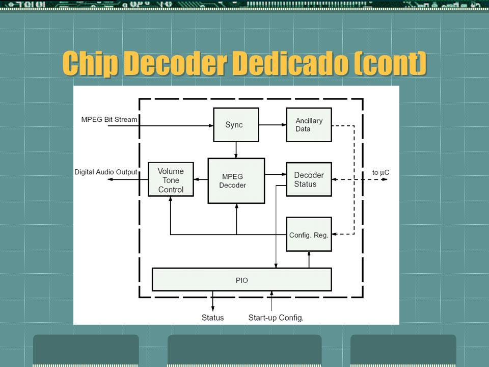 Chip Decoder Dedicado (cont)