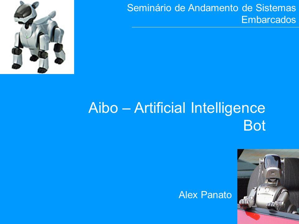 15 A i b o Alex Panato Aibo – Artificial Intelligence Bot Seminário de Andamento de Sistemas Embarcados
