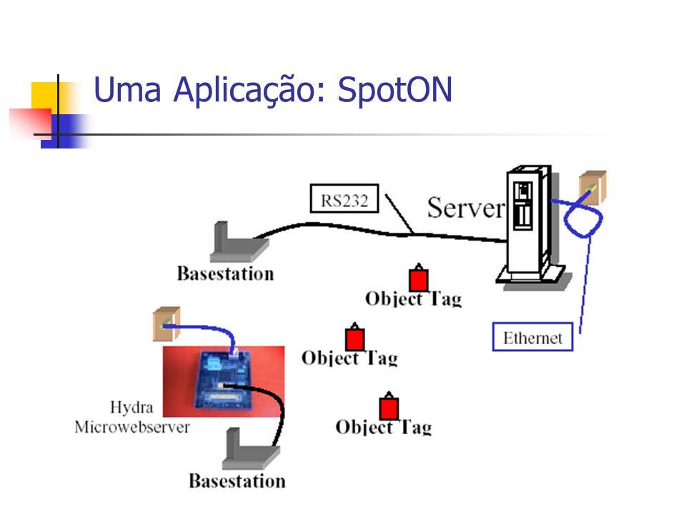 Uma Aplicação: SpotON