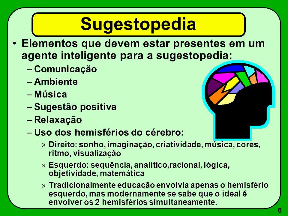 7 Conflito no cérebro: O lado direito tenta dizer a cor, mas o lado esquerdo insiste em ler a palavra.