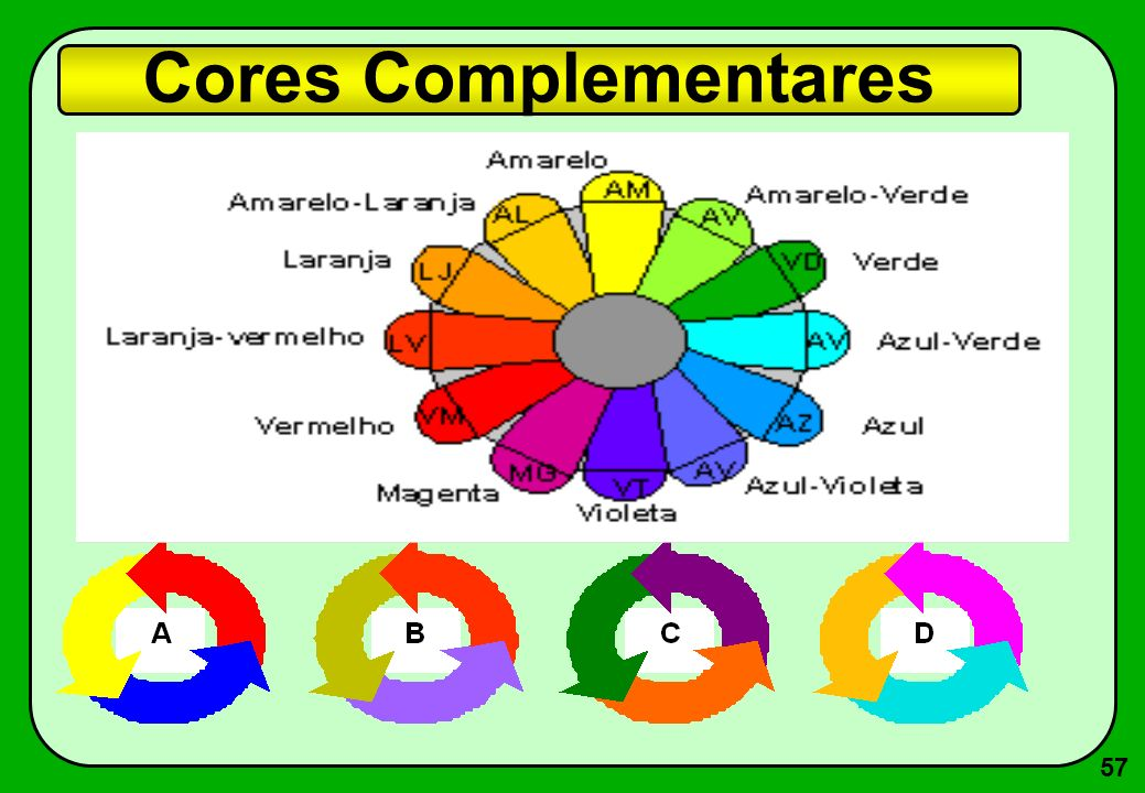 57 Cores Complementares