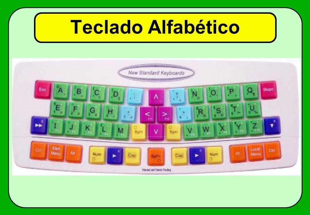 Teclado Alfabético