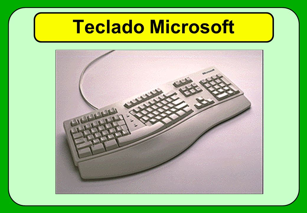 Teclado Microsoft