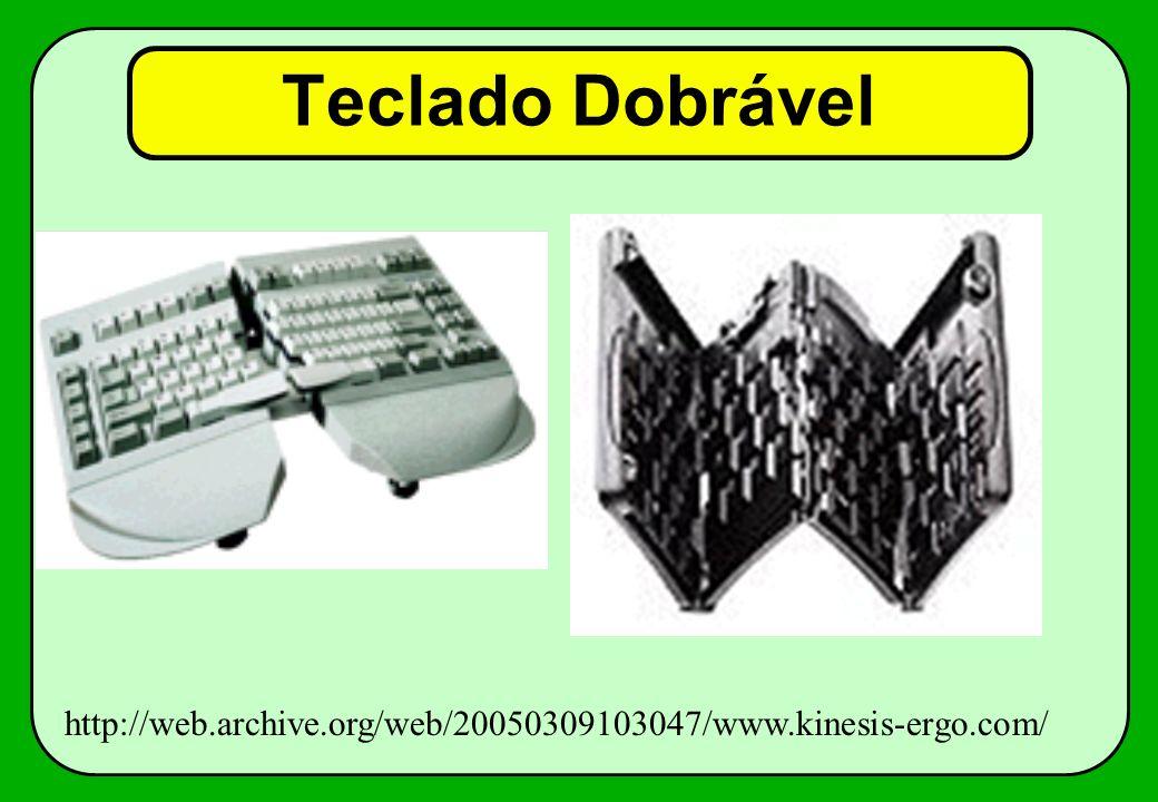 Teclado Dobrável http://web.archive.org/web/20050309103047/www.kinesis-ergo.com/