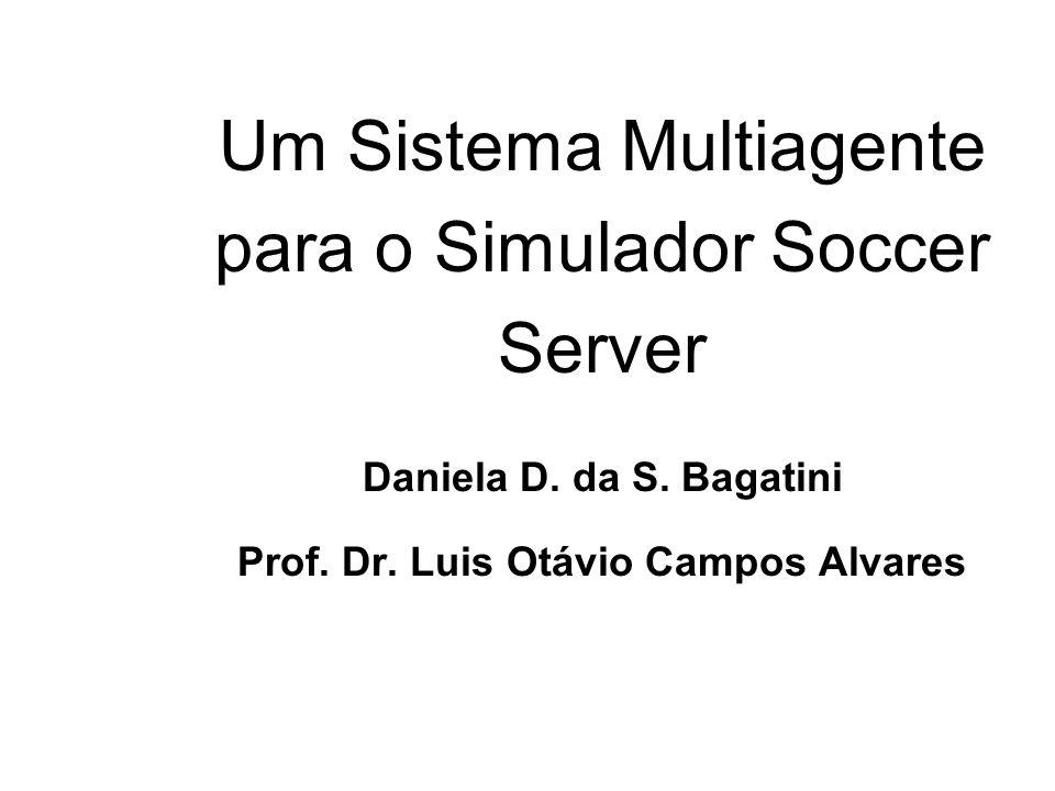 Um Sistema Multiagente para o Simulador Soccer Server Daniela D. da S. Bagatini Prof. Dr. Luis Otávio Campos Alvares