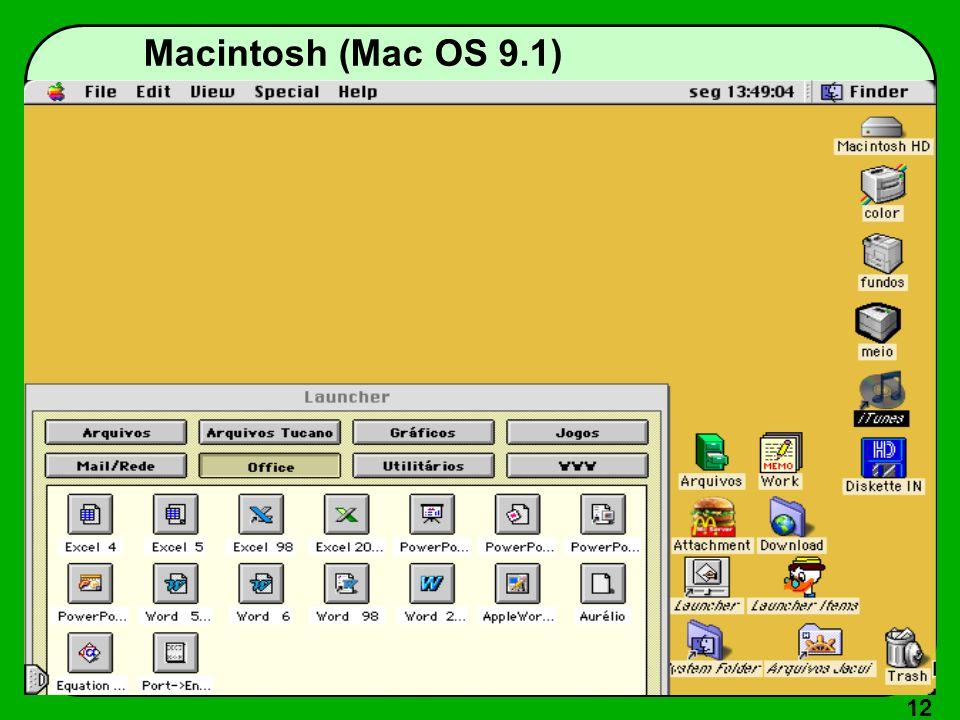 12 Macintosh (Mac OS 9.1)