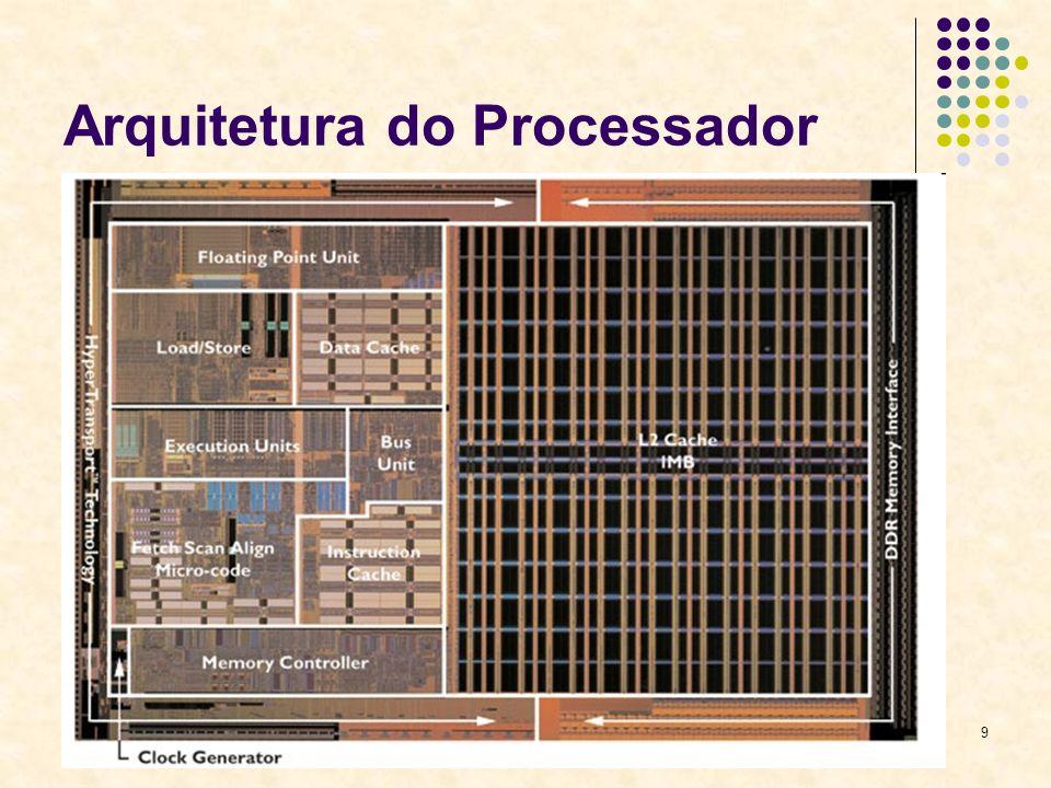 9 Arquitetura do Processador