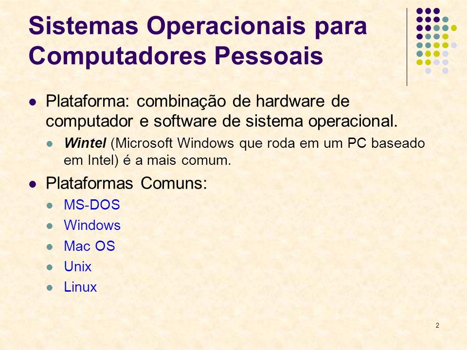 13 Melhorias do Windows XP Melhor interface com o usuário: Área de trabalho muito mais clara e desobstruída.