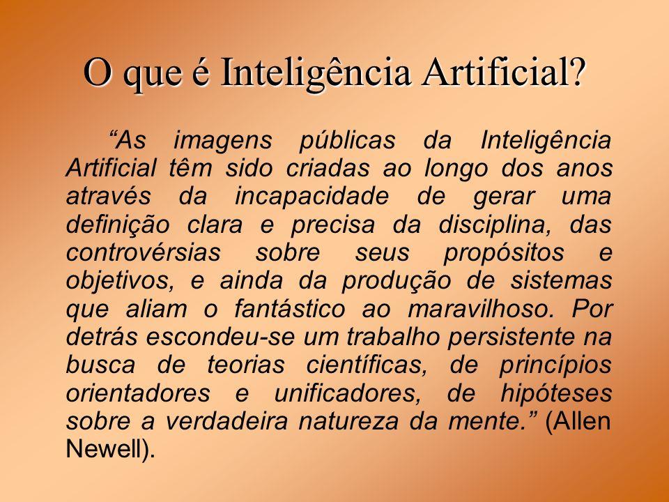 O que é Inteligência Artificial? As imagens públicas da Inteligência Artificial têm sido criadas ao longo dos anos através da incapacidade de gerar um